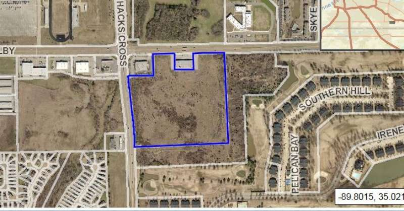 Hack's Cross & Shelby Drive Commercial Land for Sale